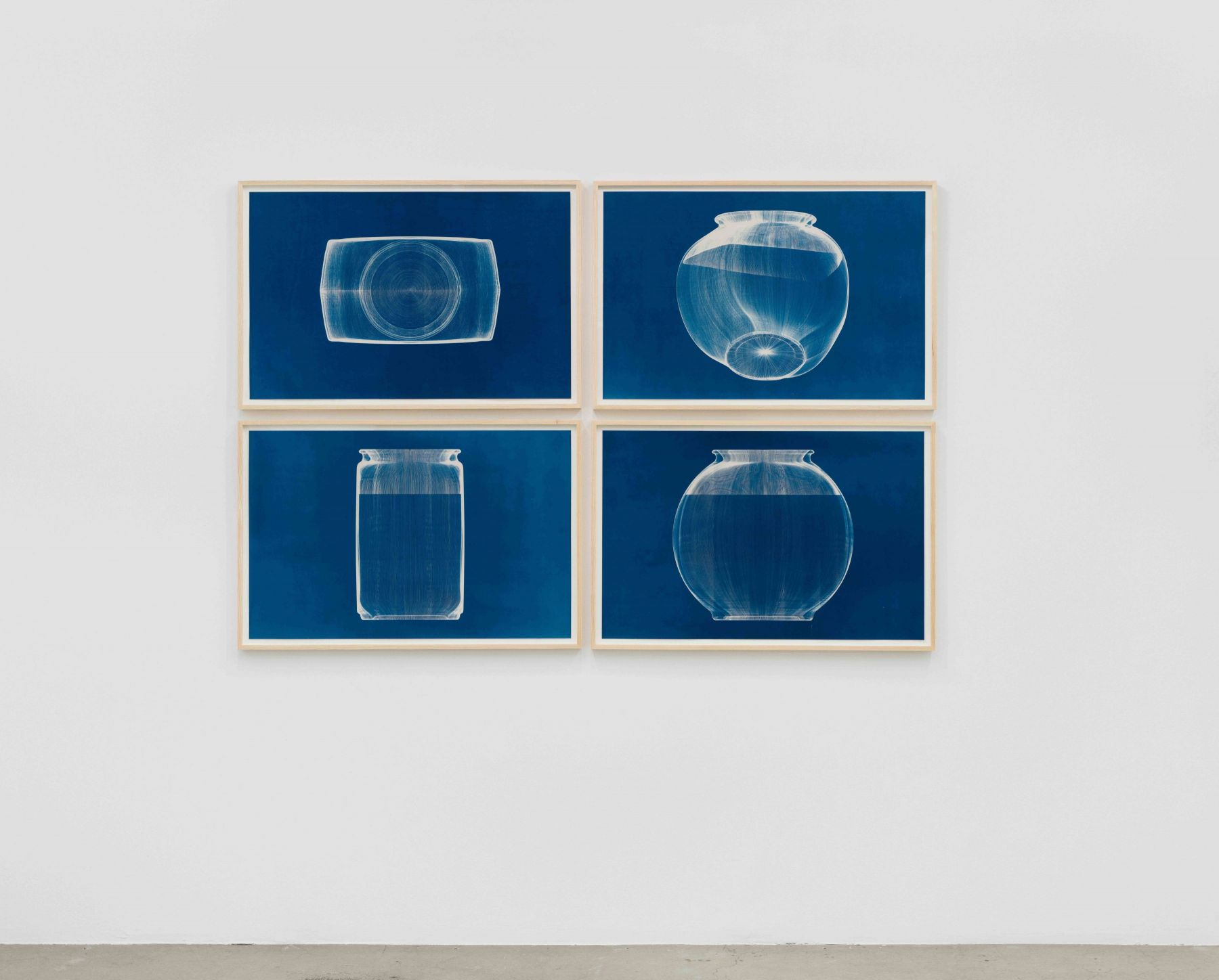 Michael DeLucia Untitled (fishbowl 4-views)