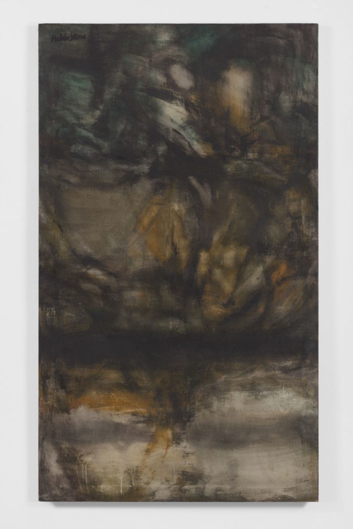 #1-1959, 1959 Oil on canvas