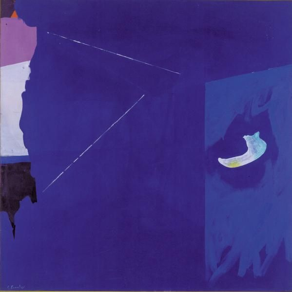 Leen, 1974, Acrylic on canvas