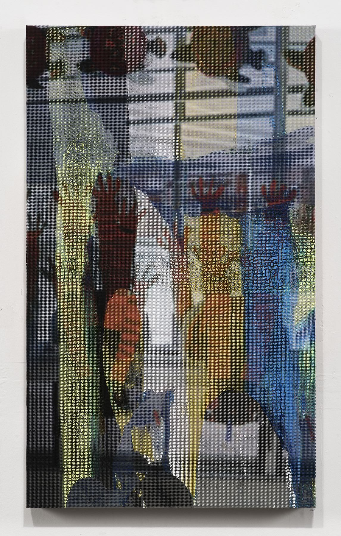 Manifold Painting (Window Display), 2017