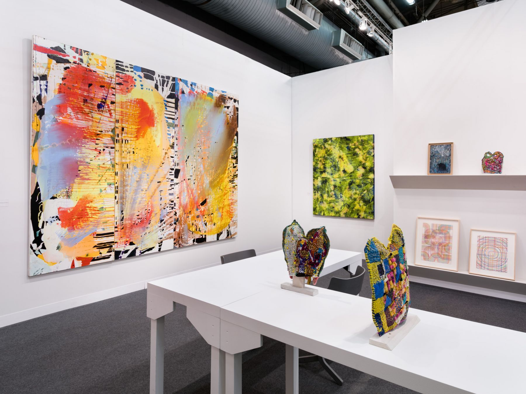 Armory Show installation view