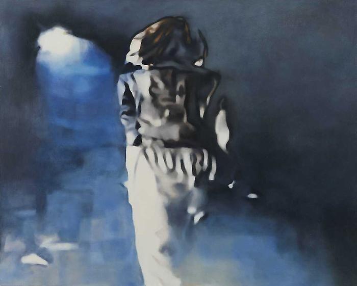 Judith EislerBlondie (standing), 2007Oil on canvas48 x 60 inches (121.9 x 152.4 cm)