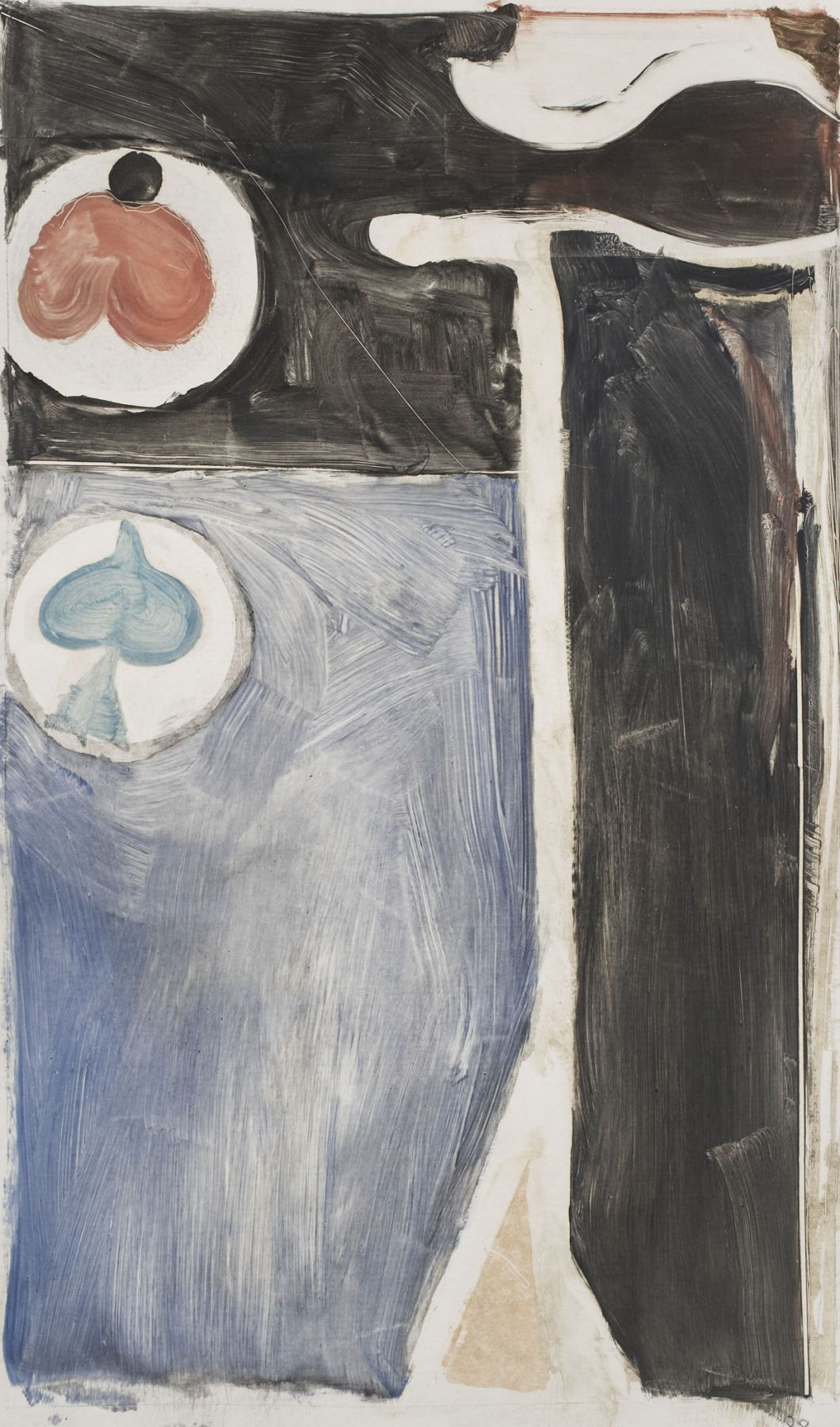 IV,1988 Monotype Image size: 22 x 15 inches (48.3 x 29.2 cm)