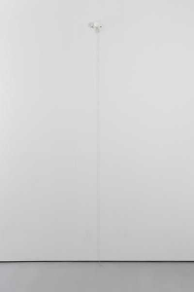 On/Off (from Vaga Lume), 2009Hand-carved Carrara marble light bulbDIMS variableVS 23