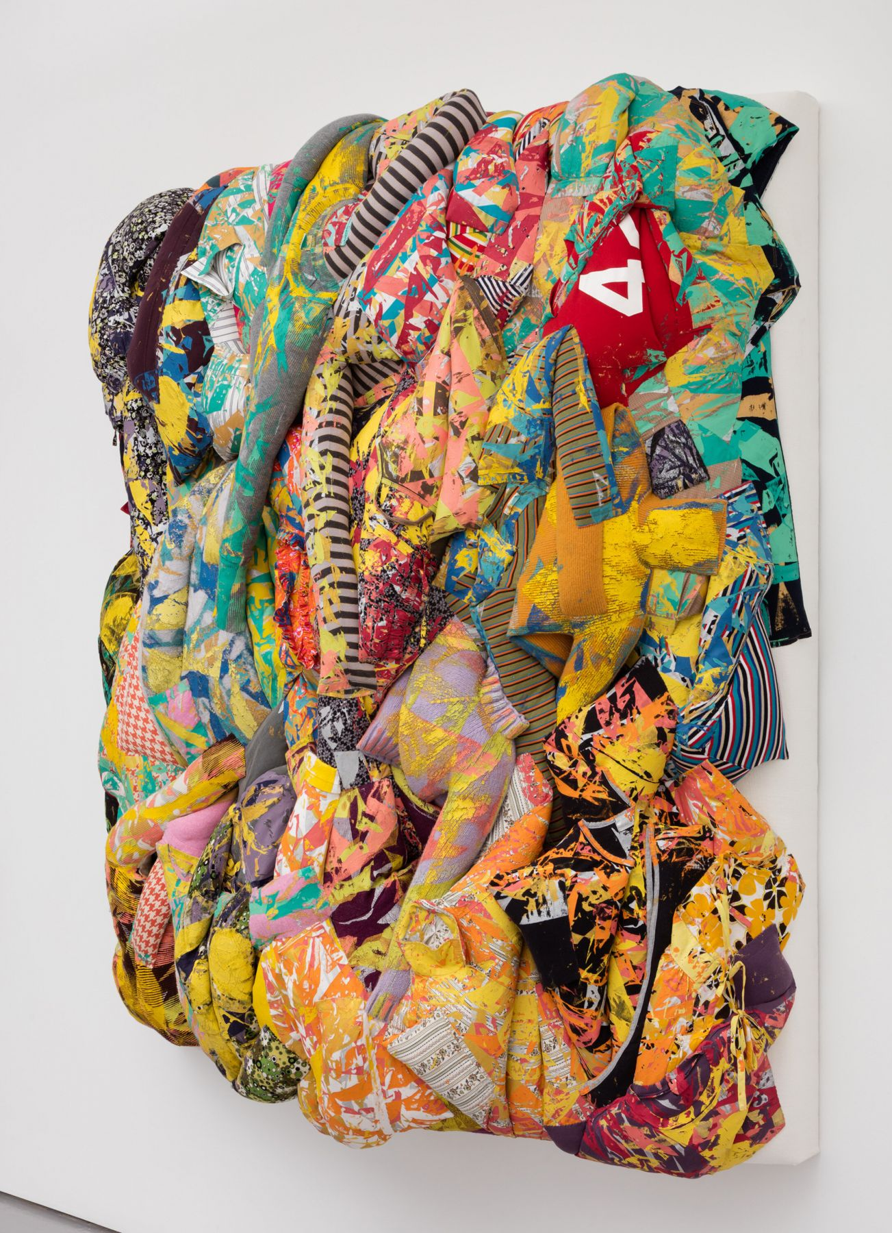 Aiko Hachisuka Untitled (Yellow) [side view], 2018