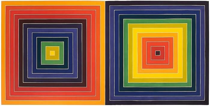 Frank Stella, Untitled (Double Concentric Squares), 1975Acrylic on canvas69 x 138 inches (175.3 x 350.5 cm)© 2011 Frank Stella / Artists Rights Society (ARS), New York