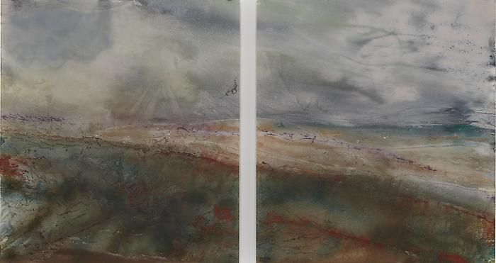 Giacinto OcchioneroNovember Hydrofool, 2010Reverse aerosol painting on plexiglass39 1/2 x 35 1/2 inches (100.3 x 90.2 cm) each panel