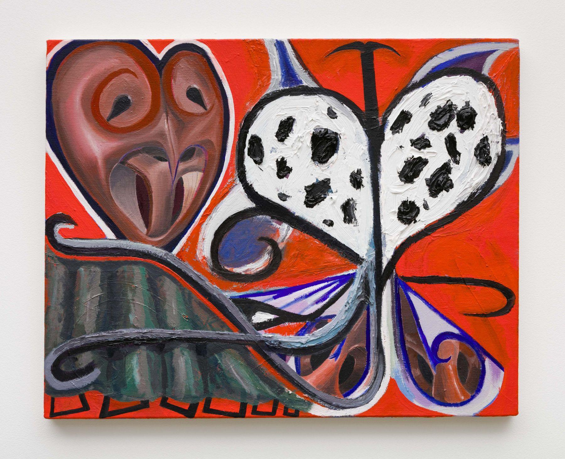 Sean Steadman Portrait with Butterfly