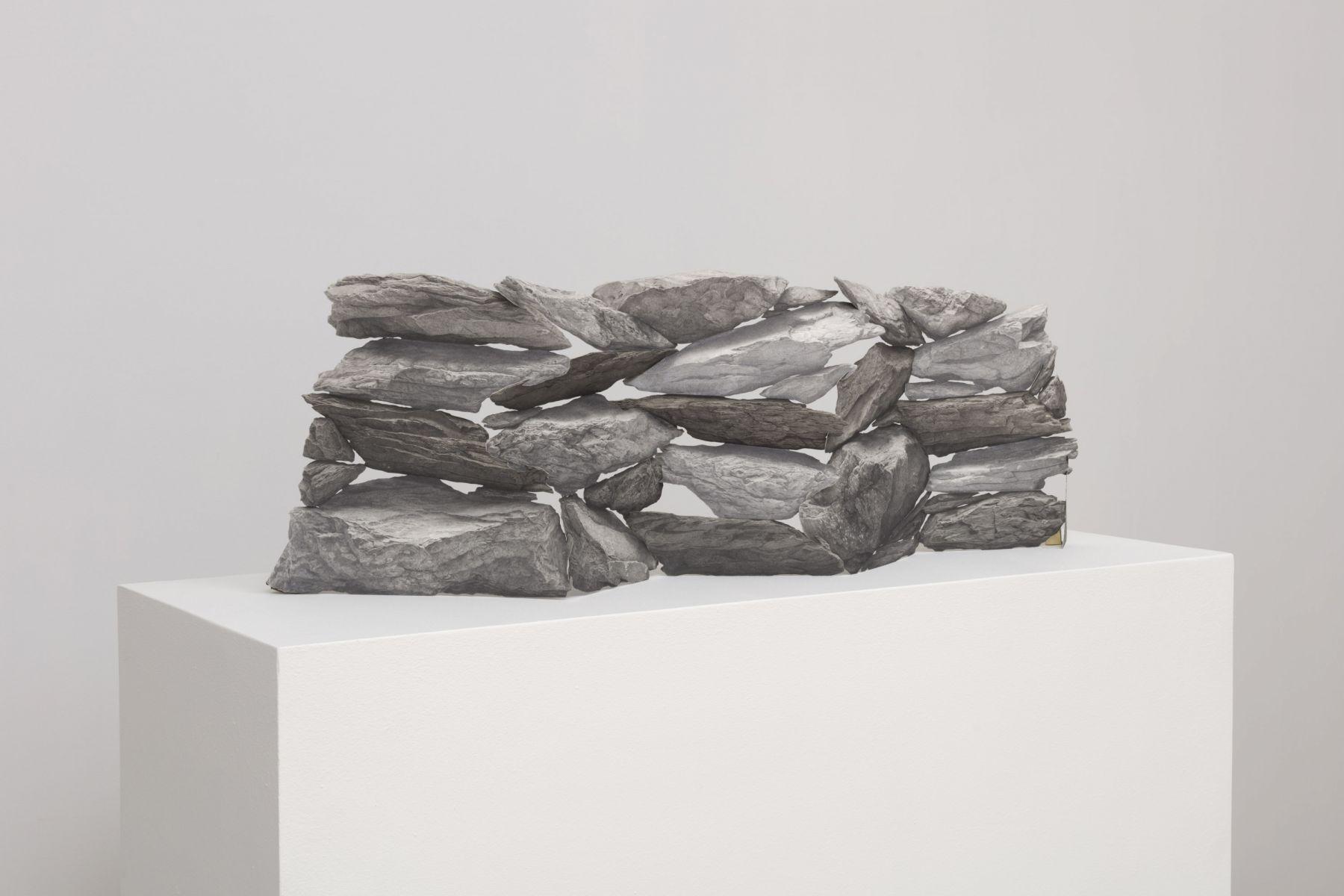 Fieldstones (wall)[alternate view], 2018