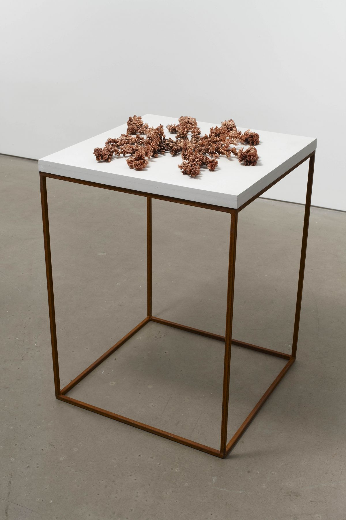 Plated Point 12009-10Copper on plaster3 x 22 x 22 inches (7.6 x 55.9 x 55.0 cm)HB 22
