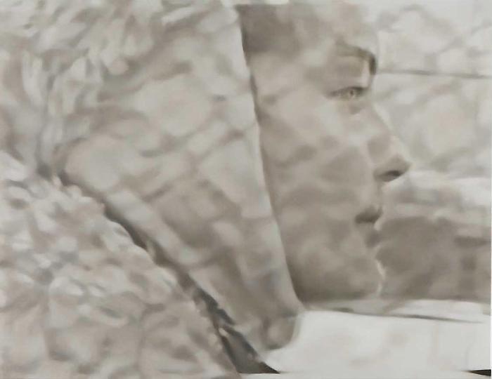 Judith EislerRomy 2, 2010Oil on canvas39 x 51 inches (99.1 x 129.5 cm)