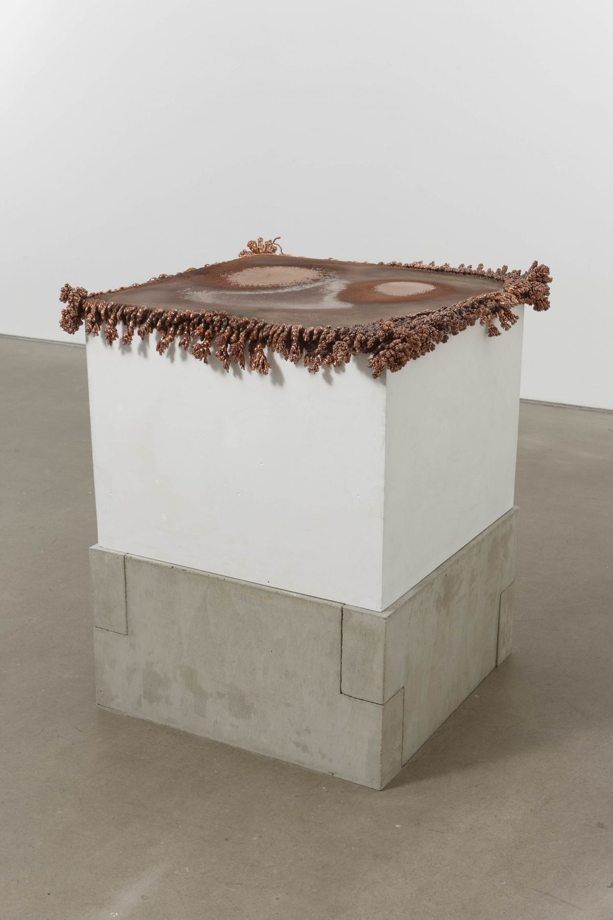 Plated Plane 32009-10Copper on plaster18 x 24 x 24 inches (45.7 x 61 x 61 cm)HB 21