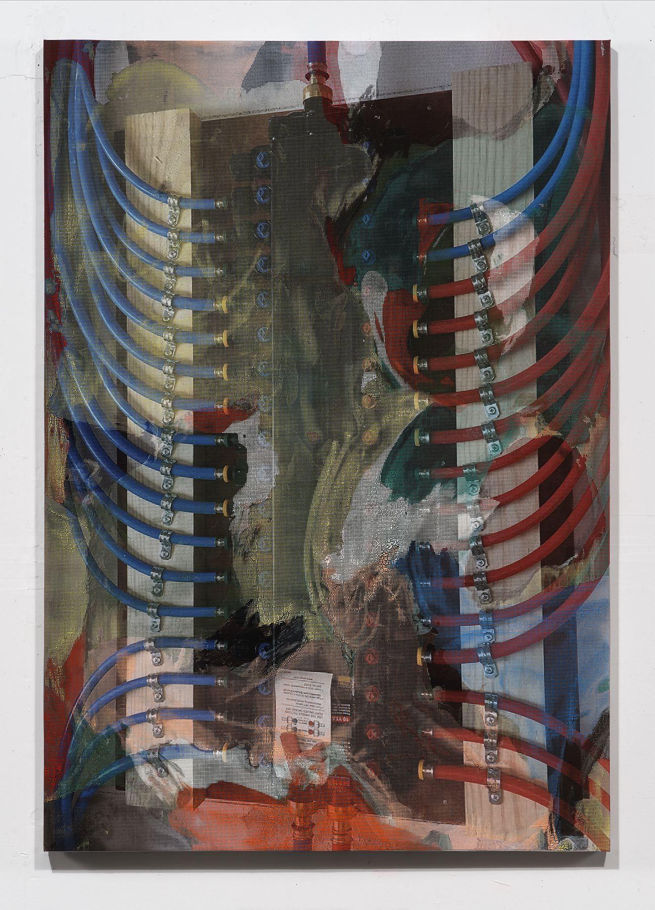 Manifold Painting (Manifold 1),2017