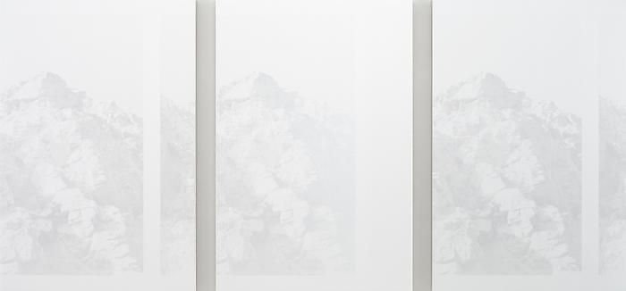 Tisdor Sequence, 2010Acrylic on canvas over panelTriptych54 x 115.5 inches (137.2 x 293.4 cm) overall