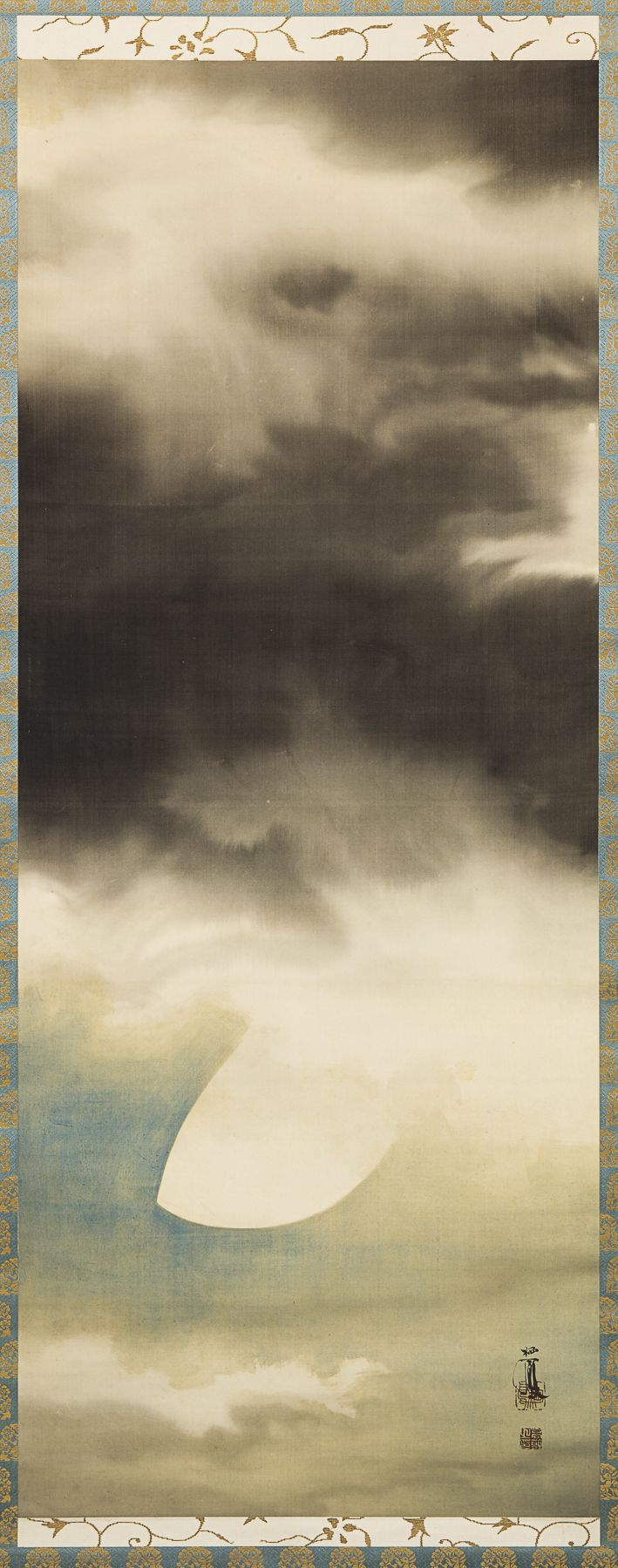 Takeuchi Seihō (1864-1942), View of the Summer Moon