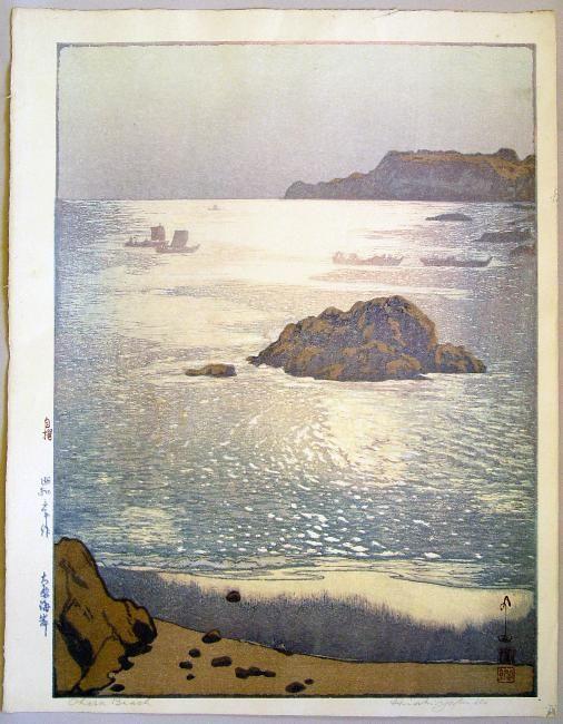 Subject: Ôhara Beach; Ôhara kaigan