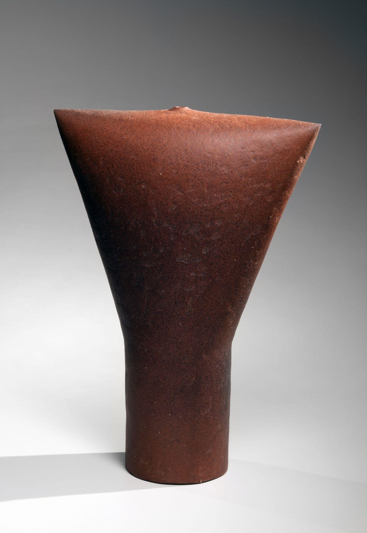 """Suzuki Osamu (1926-2001), Abstract sculpturetitled """"Fireman"""""""