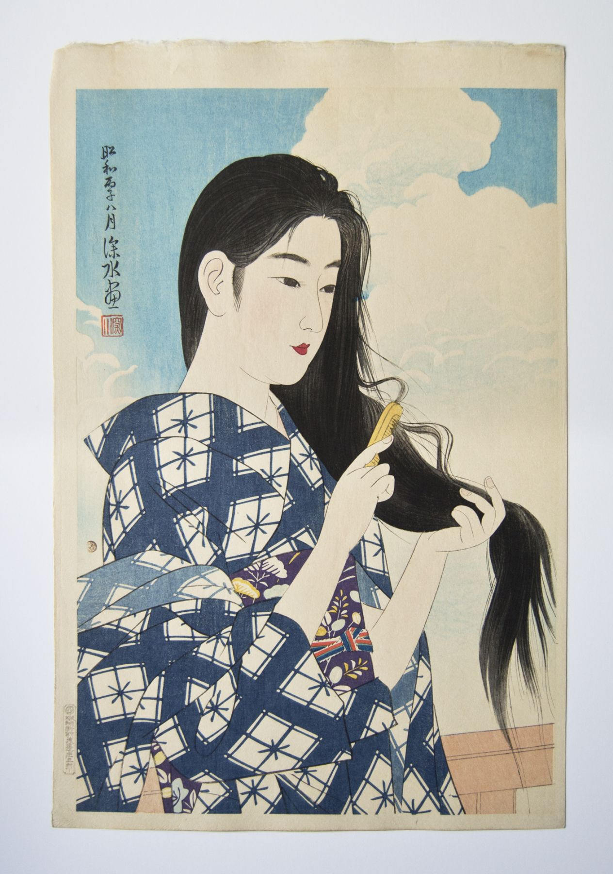 Ito Shinsui (1898-1972), Washing Hair
