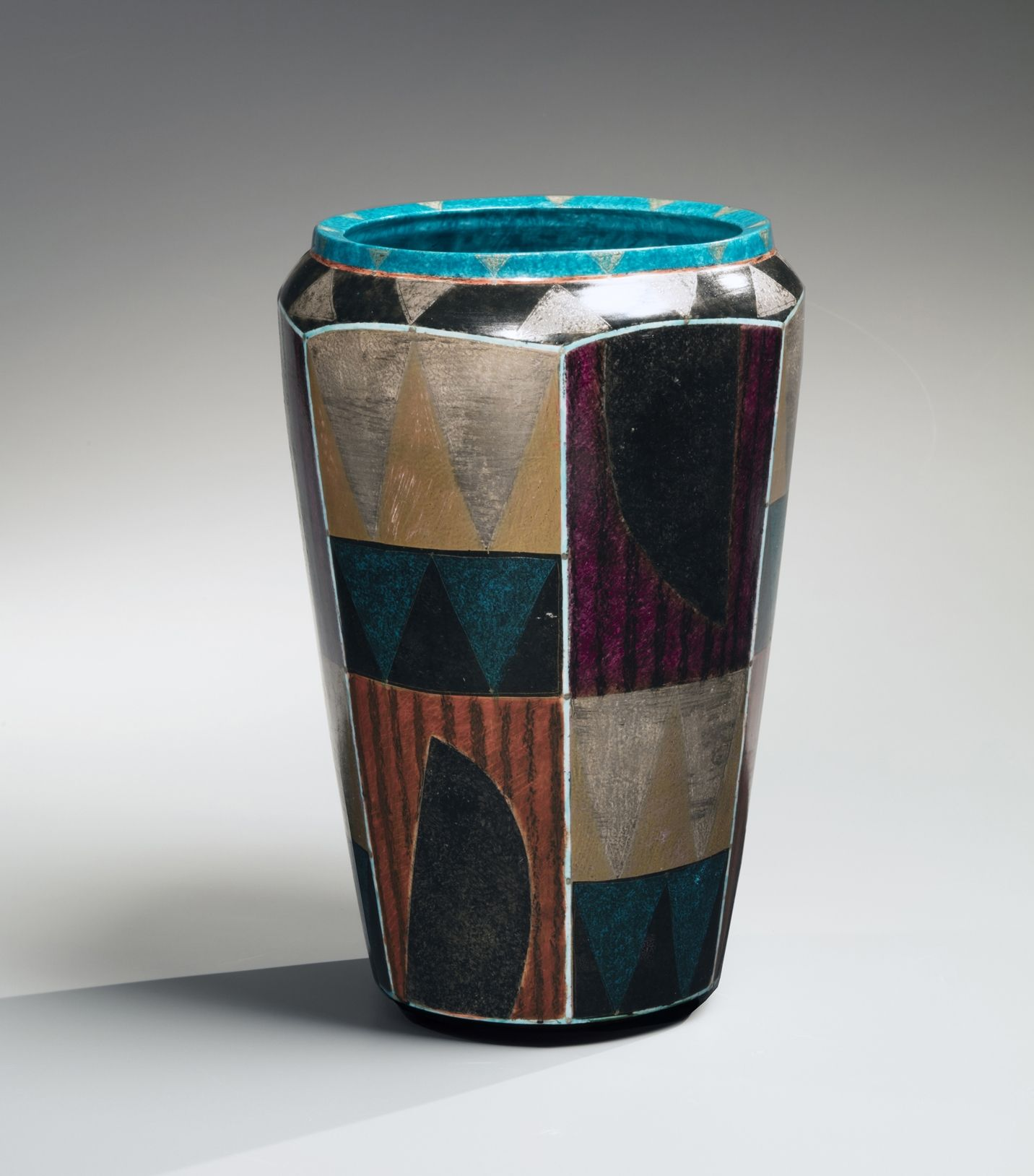 Vessel with geometric patterning, 2006