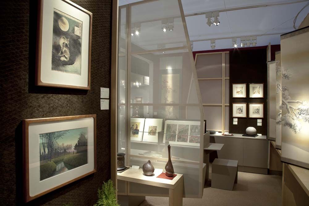 The Winter Antiques Show 2013 booth.