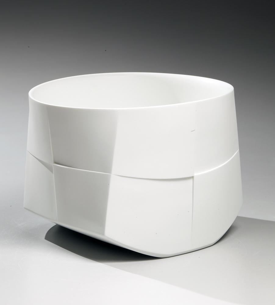 Japanese white porcelain, Japanese porcelain sculpture, 2013