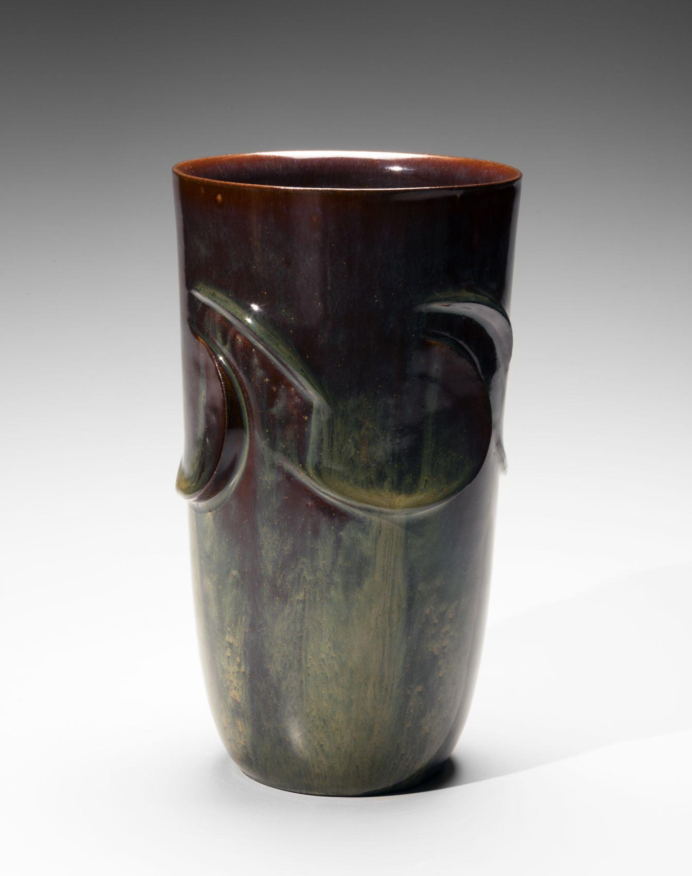 """Kusube Yaichi (1897-1984), VaseTaido""""Fetal Movement"""""""