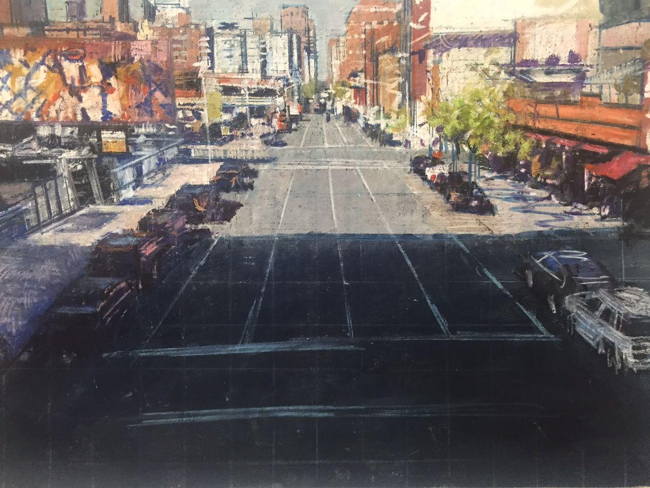 STREET SCENE (FROM THE HIGHLINE)