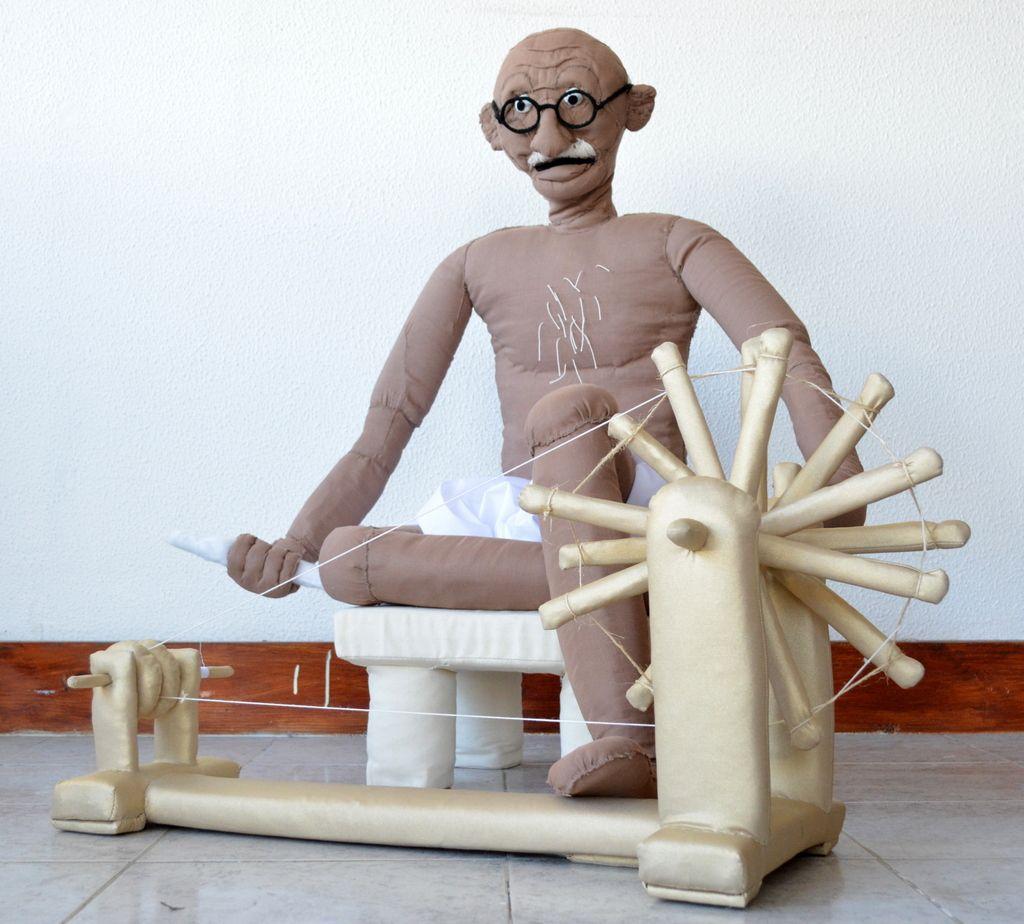 Toy Gandhi 8 (Soft Toy)