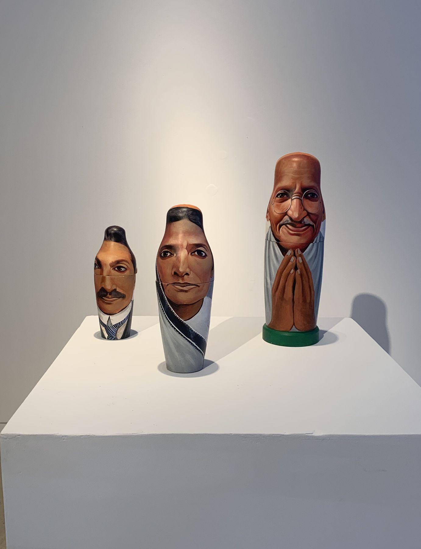 Toy Gandhi 2 (Small Russian Dolls)