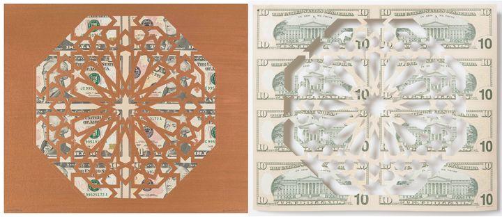 Divine Structure: Octagon (Diptych)