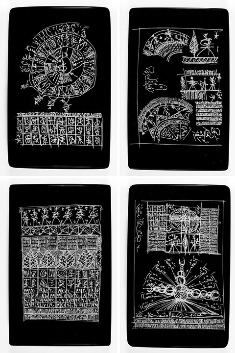 Untitled (Talismanic Tablets)