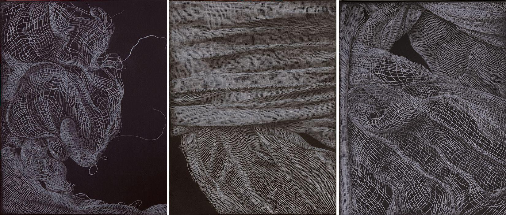 Adeel uz Zafar - Intermittent (triptych)