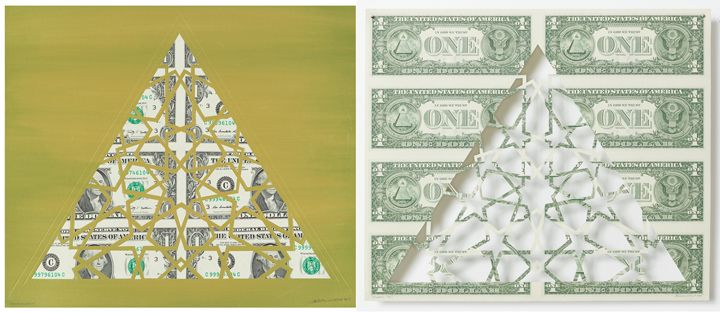 Divine Structure: Triangle (Diptych)