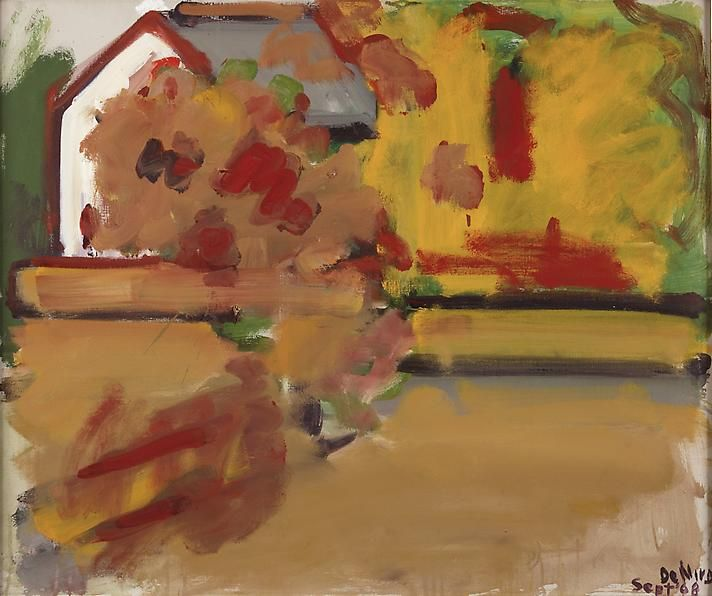Autumn Landscape with House, 1968