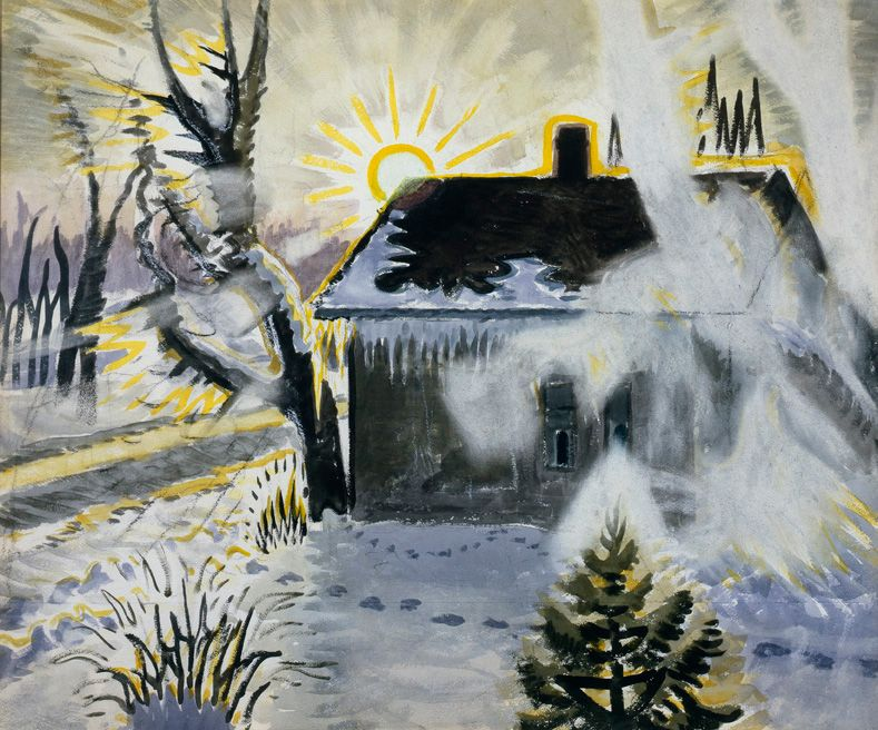 Winter Sunburst, 1960