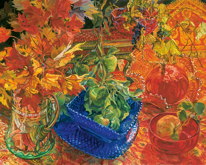 Pumpkin, 2008, Oil on canvas