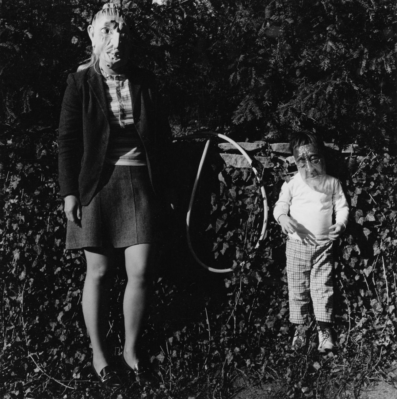 One of seven kids of Mertonian friend, 1970-72