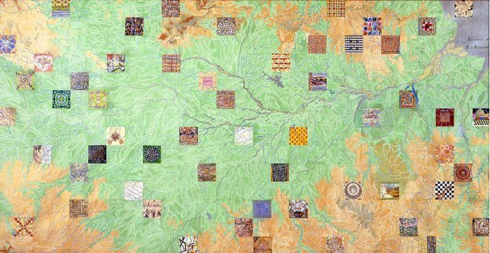 Joyce Kozloff, Calvino's Cities on the Amazon, 1995
