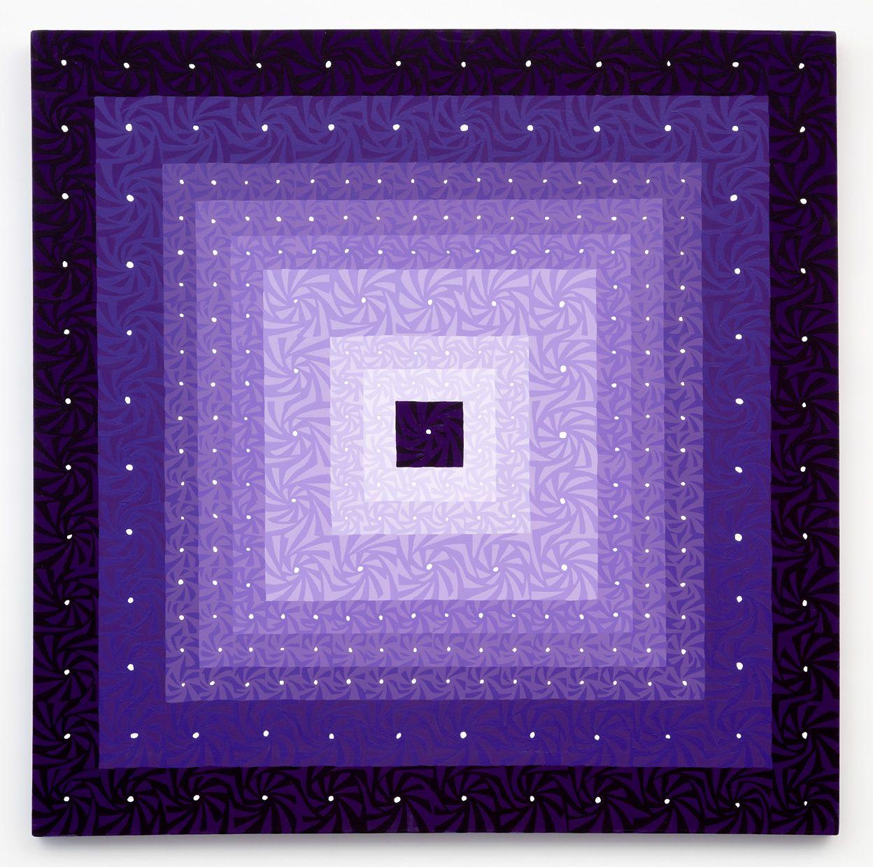 Story of Purple, 2016, Acrylic on panel