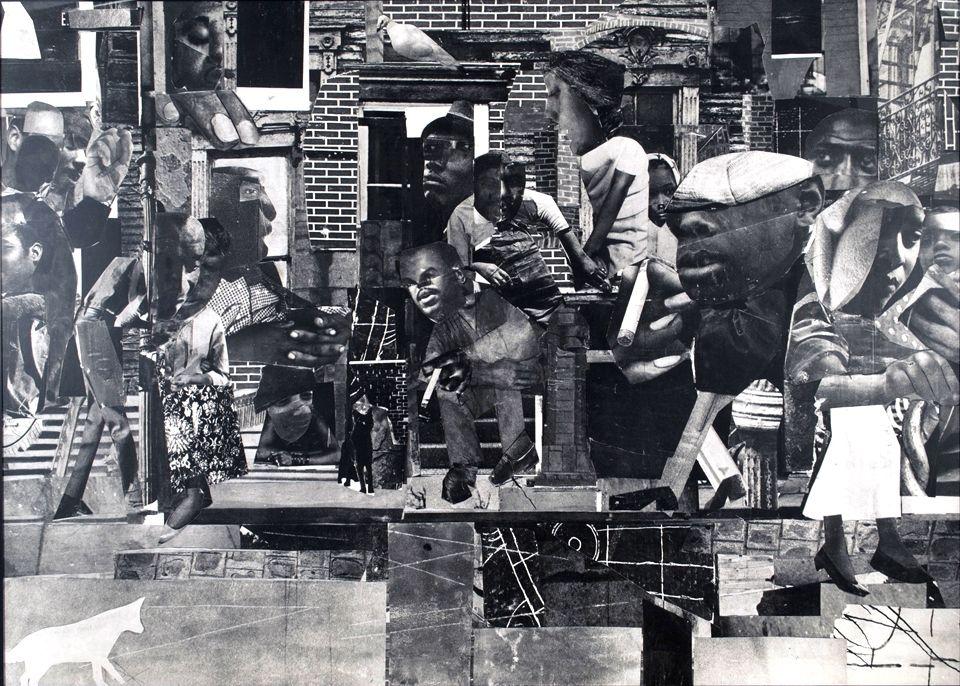 Romare Bearden, The Dove, 1964
