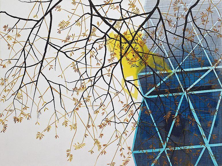 Erik Benson, Yellow Bag, 2012