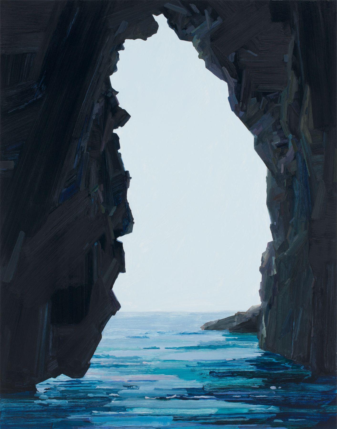 Claire Sherman, Sea Cave, 2017