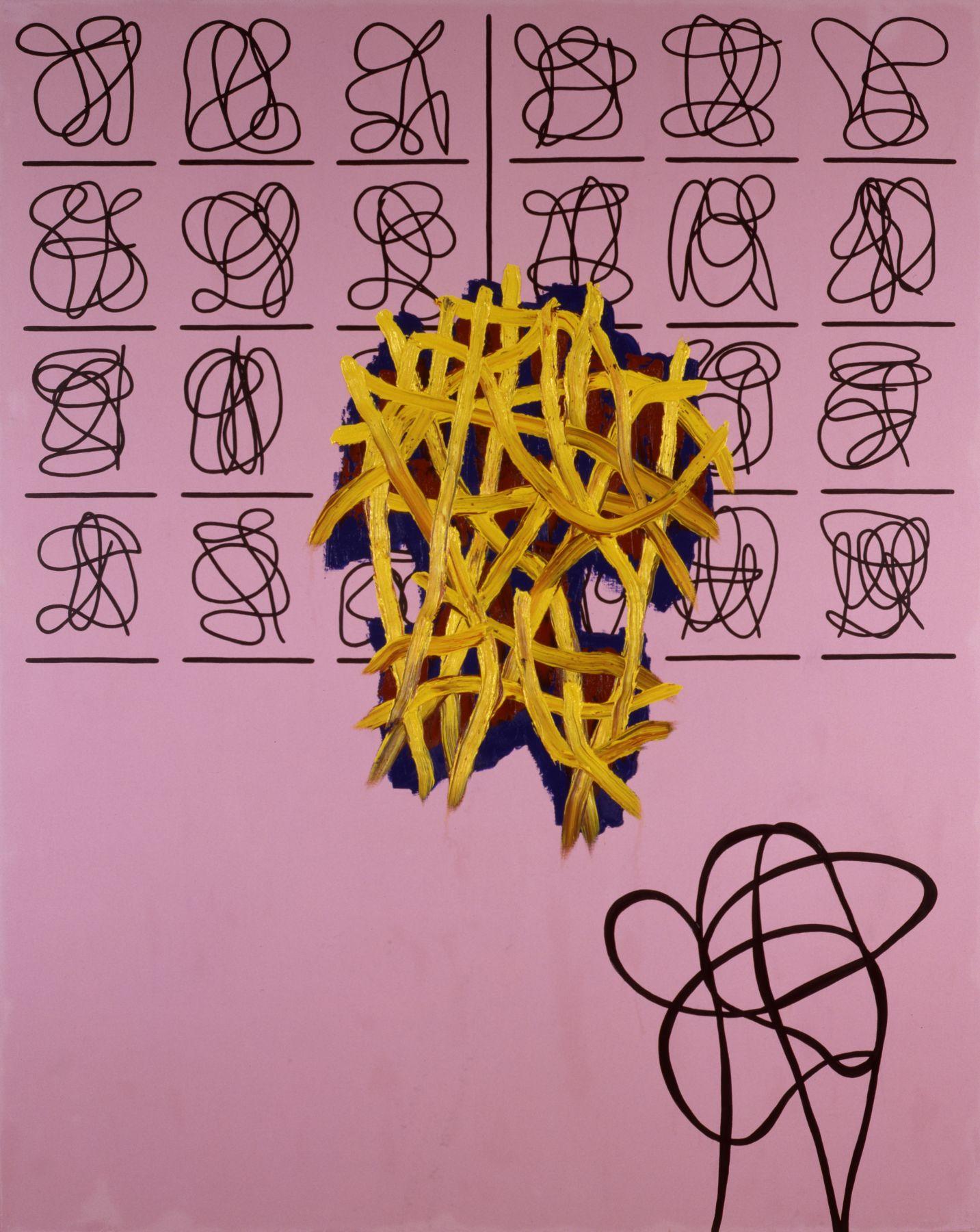 Jonathan Lasker Spiritual Etiquette,1991