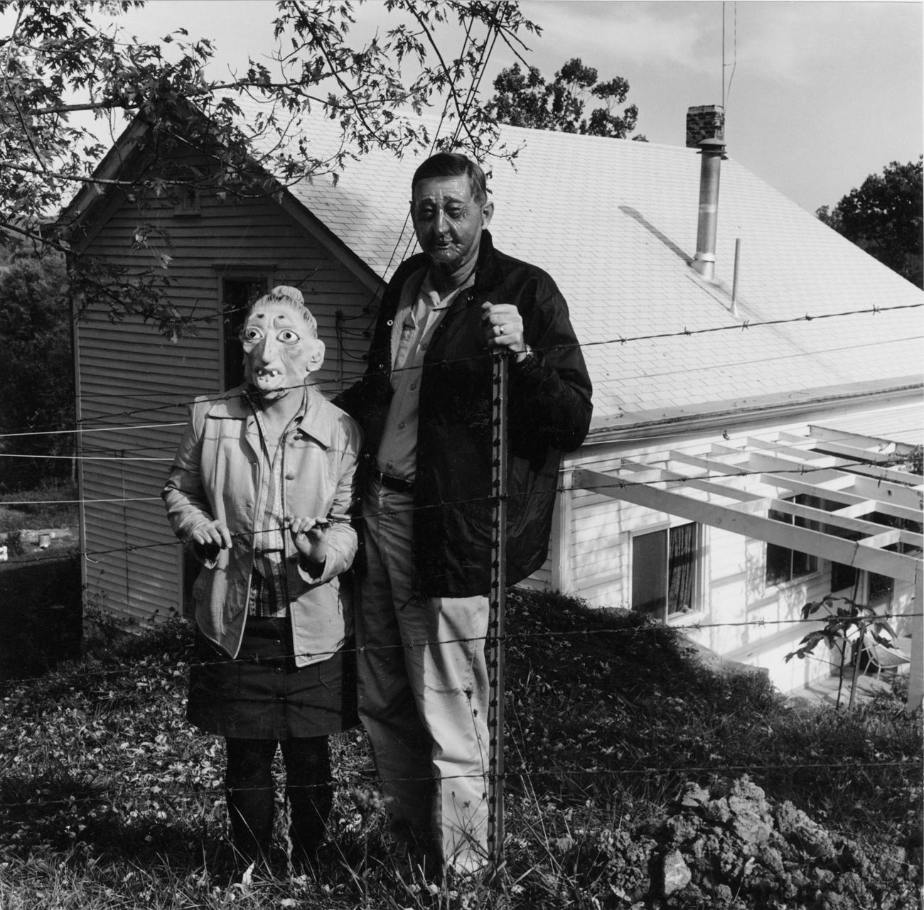 Lucybelle Crater and successful peanut farmer friend's boyhood chum from New Castle, KY, Lucybelle Crater, 1970-72