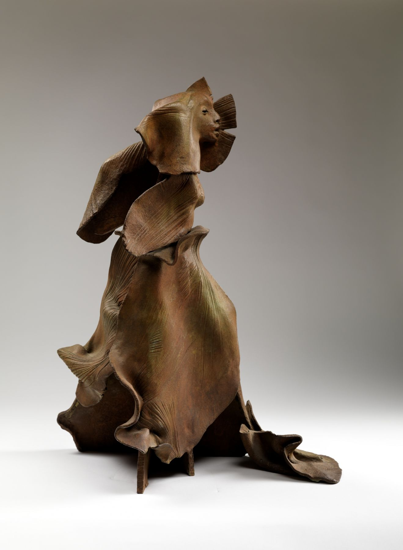 Walking Woman, 1980-94, Bronze