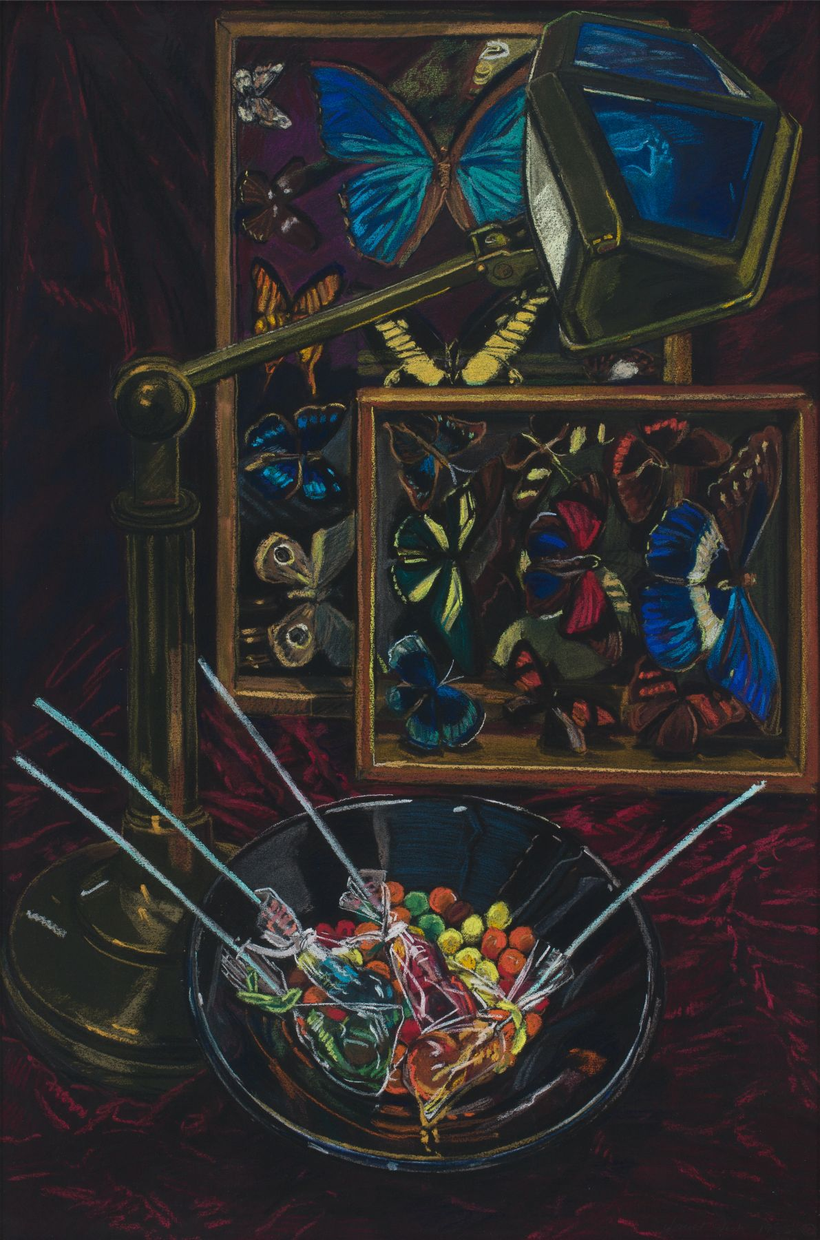 Untitled (Still Life with Butterflies), 1985