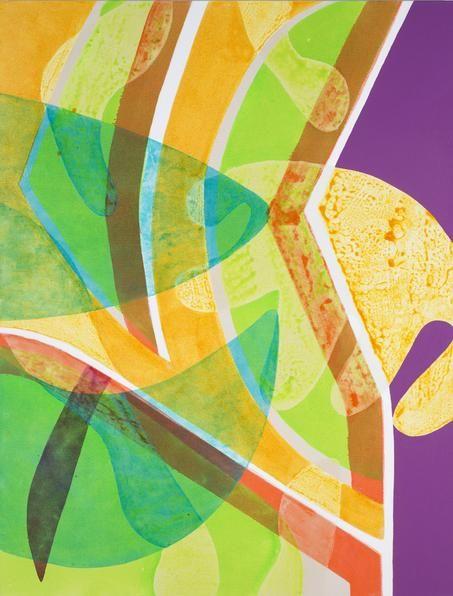 Weeki Wachee, 2013. Acrylic on canvas, 40 x 36 inches.