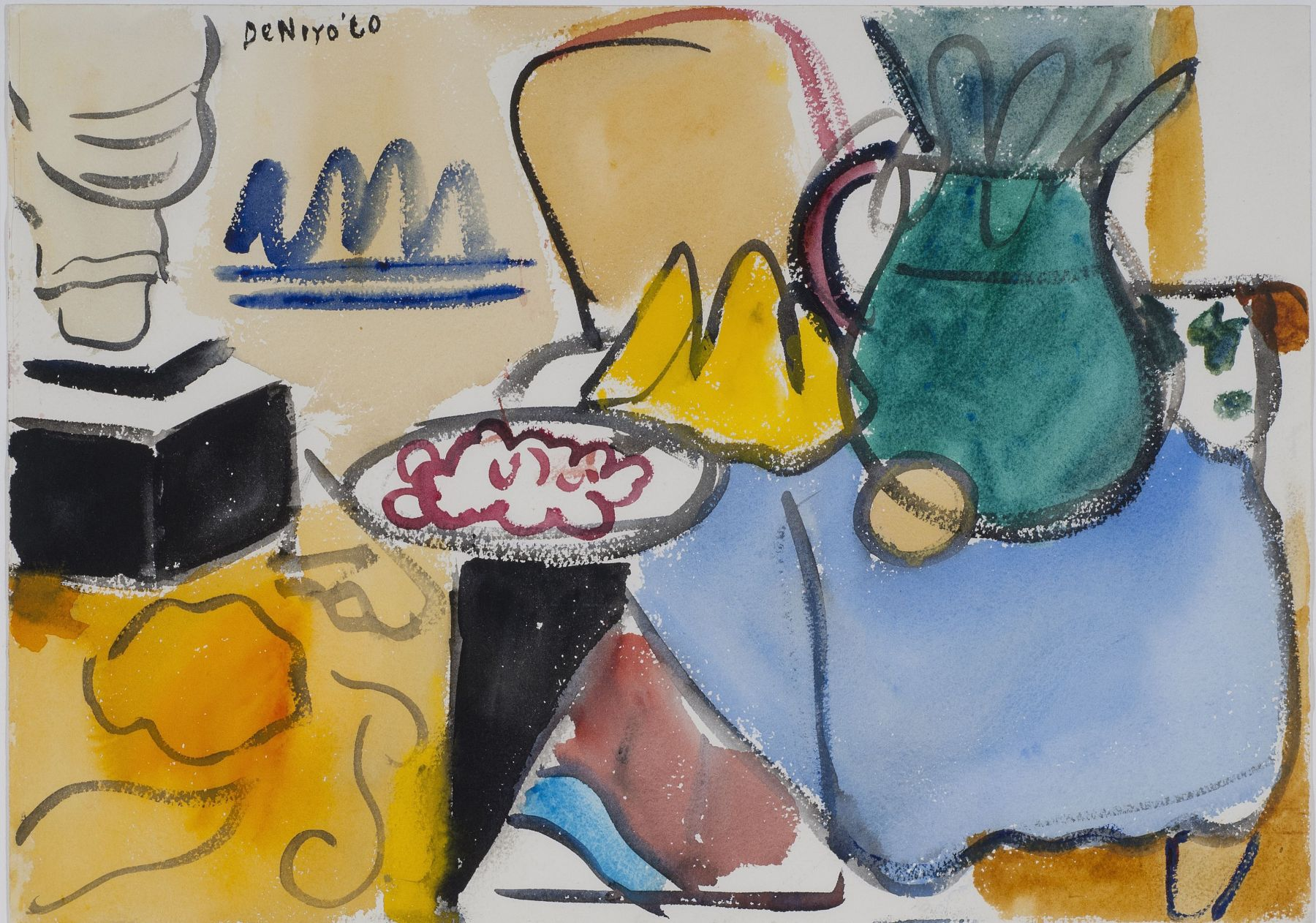 Untitled (Interior Still Life), 1960