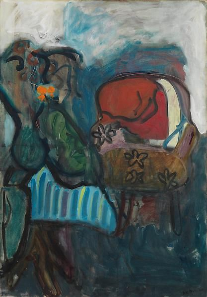 Untitled (Still Life with Chair), 1960