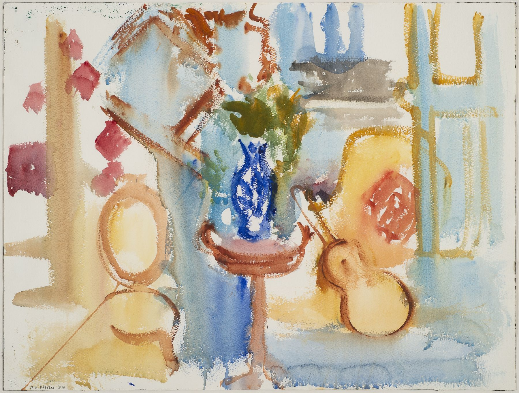 Untitled (Interior Still Life with Guitar), 1984